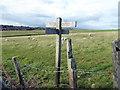 TV5697 : Bridleway Junction Sign by PAUL FARMER