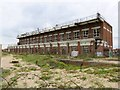 SZ6898 : Derelict MOD building by Fort Cumberland by Steve Daniels