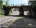 ST0583 : Northwest side of Cross Inn Road bridge, Cross Inn near Llantrisant by Jaggery