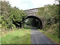 SX5287 : Road Bridge over the Cycle Track by Tony Atkin