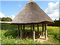 TQ0107 : Thatched Hut, Arundel Castle grounds by Paul Gillett