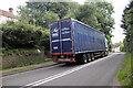 SO6918 : The A4136 near Longhope by Jeff Buck