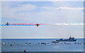 SZ1090 : Bournemouth Air Festival 2017 - Red Arrows Synchro Pair by Mike Searle