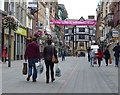 SK5804 : Market Street in Leicester city centre by Mat Fascione