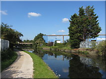 TQ2182 : Grand Union Canal near Old Oak Common by Gareth James