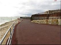 SZ6497 : The Solent Way passing Southsea Castle by Steve Daniels