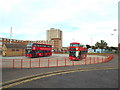 TQ4986 : Becontree Heath bus terminus by Malc McDonald