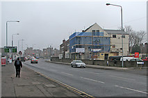 SK5838 : Radcliffe Road: converting the Gallery Hotel by John Sutton