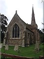 TL3266 : Conington church by Dave Thompson