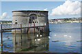 SM9603 : Gun Tower, Pembroke Dock by Stephen McKay