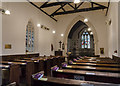 SK8748 : Interior, St Martin's church, Stubton by Julian P Guffogg