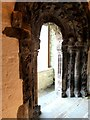 R7072 : Romanesque Doorway, St Flannans' Cathedral by Oliver Dixon