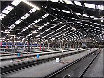 TQ2182 : Old Oak Common HST shed by Gareth James