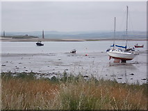 NU1341 : Holy Island Harbour by norman griffin