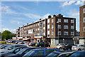 TQ5392 : Shops, Farnham Road, Harold Hill by Robin Webster