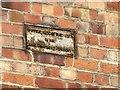 SK5739 : Boundary sign alongside the Nottingham Canal, Carrington Street by Alan Murray-Rust