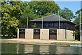SP5105 : Wadham, St Anne's & St Hugh's Colleges Boathouses by N Chadwick