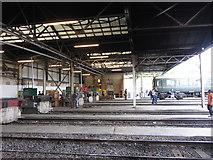 TQ2182 : Sidings at Old Oak Common depot by Gareth James