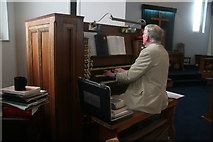 TQ9220 : Hymns of your choice played on a very individual organ in the Methodist Church, Rye by Chris
