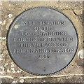 NU1800 : Plaque on old bridge, Felton by Graham Robson