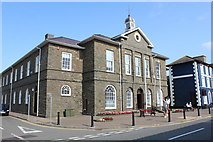 SN4562 : Aberaeron Town Hall by Richard Hoare