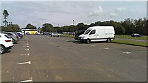 ST2885 : Tredegar House and Country Park car park, Duffryn by Brian Robert Marshall