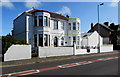SM9006 : White semis, Great North Road, Milford Haven by Jaggery