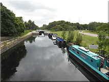 TL3700 : River Lee Navigation at Waltham Abbey by Marathon