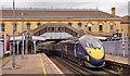 TQ7567 : Class 395 at Chatham station - September 2017 : Week 36