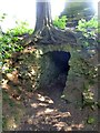 SP6736 : The icehouse entrance at Stowe by David Smith