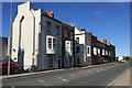 SY6779 : Oriel windows to houses, King Street, Weymouth by Robin Stott
