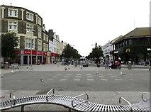 TM1714 : A bench on Pier Avenue by Steve Daniels