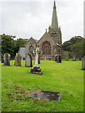SD1779 : St. George's Church and Graveyard, Millom by Trevor Littlewood