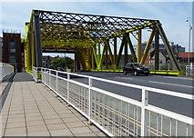 TA1028 : Drypool Bridge crossing the River Hull by Mat Fascione