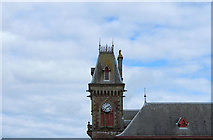 NX4355 : Tower & Town Hall Clock, Wigtown by Billy McCrorie