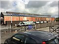 SN5881 : Vale of Rheidol railway sheds by Richard Hoare
