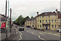 ST6854 : Main Road through Radstock close to Museum by John Firth