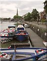 ST5872 : Floating Harbour and St Mary Redcliffe by Derek Harper