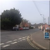 TM2850 : Junction with The Street, Melton by Dave Thompson