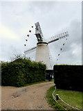 TQ6104 : Stone Cross Windmill by PAUL FARMER