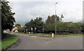 ST7057 : View up Orchard Way from A367 roundabout by John Firth