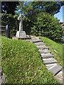 SE9555 : Tibthorpe war memorial by Stephen Craven