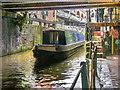 SJ8397 : Narrowboat at Lock#91 by David Dixon