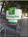 ST5973 : Holiday Inn sign by Adrian Cable