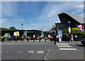 SU3076 : Membury Services off the M4 Motorway by Adrian Cable