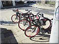 R5857 : Public cycle docking station in St John's Square by Oliver Dixon