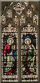 TF2522 : Stained glass window, Ss Mary & Nicholas church, Spalding by Julian P Guffogg