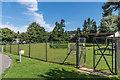 TQ1749 : Pippbrook Bowls Club by Ian Capper