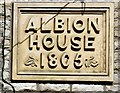 SJ9984 : Albion House 1805 by Gerald England