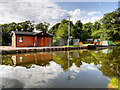 SD4616 : Rufford Branch Canal, Spark Bridge Services by David Dixon